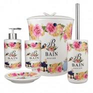 Kit Banheiro Porcelana Bain Design Amigold