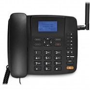 Imagem - Celular Rural Fixo Multilaser Quadriband 3G Preto RE504 cód: MKP000278002053
