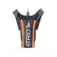Mochila de Hidratação Preto/laranja 2L + Compartimento para Objetos Bi134 - Atrio