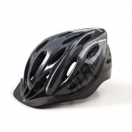 Imagem - Capacete Atrio para Ciclismo Mtb 2.0 com Led Traseiro 19 Entradas de Ventilação Cinza/preto Tam G cód: MKP000278003888