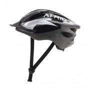 Imagem - Capacete Atrio para Ciclismo  2.0 Viseira Removível e 19 Entradas de Ventilação Preto/Branco Tam G cód: MKP000278003889