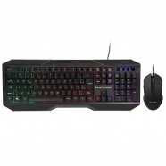 Imagem - Combo Teclado e Mouse Gamer 2400 Dpi com Fio e Indicadores de LED Multilaser TC239 cód: MKP000278004116