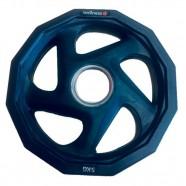 Imagem - Anilha Olímpica Rubber com 5 Furos de 5kg Wellness Wk014 cód: MKP000278005331