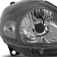 Farol Principal Punto 2012 a 2014 Máscara Cinza Direito - Automotive Imports