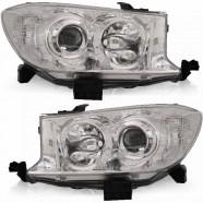 Farol Hilux Sw4 Mascara Cromada Ano 2009 a 2011 Direito - Automotive Imports