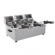 Imagem - Fritadeira Elétrica Turbo Cotherm Profissional 3 Cubas220V cód: MKP000300000040