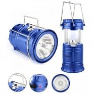 Imagem - Lanterna Lampião LED 6 em 1 Solar Bivolt + Entrada USB GT214 cód: MKP000301000496