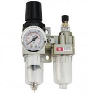 Imagem - Filtro de Ar Regulador Manômetro Compressor Ar Lorben GT558 cód: MKP000301000846