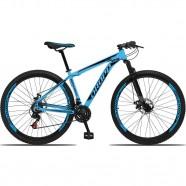 Imagem - Bicicleta Aro 29 Alumínio 21 Marchas Freio a Disco Azul cód: MKP000303002917