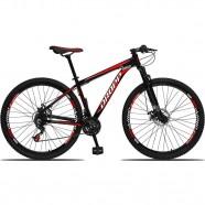 Imagem - Bicicleta Aro 29 Alumínio 21 Marchas Freio a Disco Preto cód: MKP000303002919