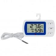 Imagem - Termômetro de Temperatura Ambiente e Geladeira Programação cód: MKP000351006896