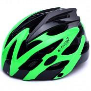 Imagem - Capacete Bike Tamanho Ajustável Verde e Preto Garra7 cód: MKP000368000997