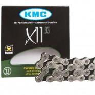 Imagem - Corrente X11 Silver 116 Elos MTB e Speed KMC cód: MKP000368001231