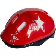 Imagem - Capacete Bike Infantil Gts Estrela Vermelho M cód: MKP000368001733