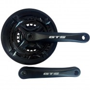 Imagem - Pedivela de Aluminio 24/34/42 Preto Bike 170mm LE053 GTS cód: MKP000368001751