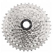Imagem - Cassete Sunrace M980 11-40 510g 9v Cromado Bike Mtb cód: MKP000368001890