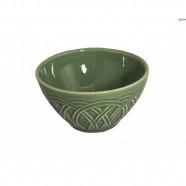 Bowl Cerâmica Cestino Verde Sálvia - Occa Moderna