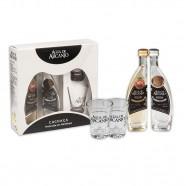 Kit Cachaça Premium Mini Ouro e Prata 50ml - Água de Arcanjo