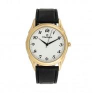 Relógio Champion Dourado Social Pulseira Couro CH22219M
