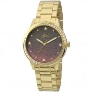 46db8bdbb Relógio Feminino Dourado Allora Coleção Celeste AL2036CQ 4G