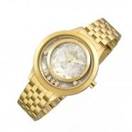 96017f79d Relógio Fashion Allora Feminino Dourado AL2036FGV/4B