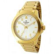 59b7f30ff08 Relogio Feminino Dourado Champion Fundo Branco Elegance