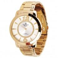 Relógio Passion Champion Feminino Dourado 50 Metros CH24259H