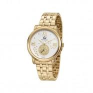 Relógio Feminino Dourado Grande Ana Hickmann AH29007H