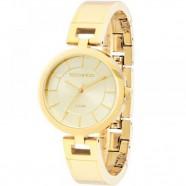 65ea795b5a5fd Relógio Feminino Dourado Technos Bracelete Pequeno