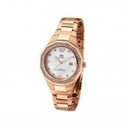 Relógio Feminino Ana Hickmann Rose Gold com Pedras com Data