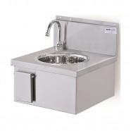 Imagem - Lavatório para Assepsia em Aço Inox 430 Atual Inox LVA-40 cód: MKP000607000187