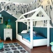 Imagem - Quarto Infantil Mesa de Cabeceira e Cama Montessoriana cód: MKP000628076676