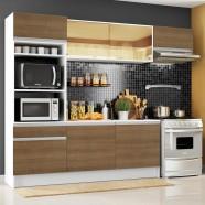 Imagem - Cozinha Completa Diamante com Armário Balcão e Tampo Madesa cód: MKP000631001052