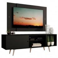 Imagem - Rack Dubai com Pés e Painel Tv até 58