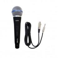 Imagem - Microfone Dinâmico Profissonal com Cabo 4 Metros Performance Sound cód: MKP000641000515