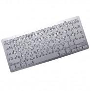 Imagem - Mini Teclado Bluetooth Sem Fio Para Tablet e Celular Prata cód: MKP000641000613