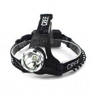 Imagem - Lanterna Cabeça Led Cree T6 2 Baterias Carregador Veicular cód: MKP000641000688