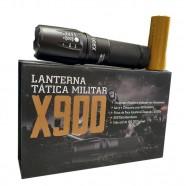 Imagem - Lanterna Led Tática T6 Militar X900 com Bateria Recarregável cód: MKP000641000700