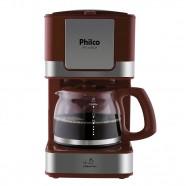 Imagem - Cafeteira Elétrica Inox Vermelho Philco 127V PH16 cód: MKP000653000798
