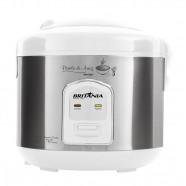 Imagem - Panela de Arroz BPA10BI Branco/Prata 700W Britânia 220V cód: MKP000653000982