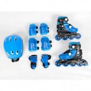 Imagem - Kit Radical Rollers Completo Bel Fix G Azul cód: MKP000693001186