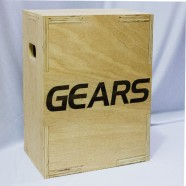 Imagem - PlyoBox Cross Fit 45x40x30cm Gears cód: MKP000756000002
