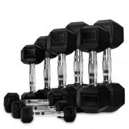 Imagem - Kit Dumbbell Iron 1 a 10kg Gears cód: MKP000756000108
