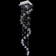 Imagem - Lustre De Cristal Original Caracol Hokkaido 17x17x70cm cód: MKP000785000134
