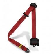 Imagem - Cinto De Segurança Automático 3 Pontos Retrátil vermelho cód: MKP000920000753
