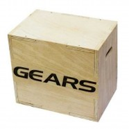Imagem - Plyo Box Cross Fit 45 X 40 X 30cm Gears cód: MKP000940000184