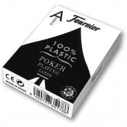 Imagem - Baralho Fournier Poker 2800 Index Jumbo Profissional Preto cód: MKP000962000827