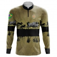 Imagem - Camiseta de Pesca Dog Hunter By Aventura - 2014 -GG cód: MKP000991000338