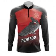 Imagem - Camiseta De Pesca Pintado By Aventura - 2008 -gg cód: MKP000991000370