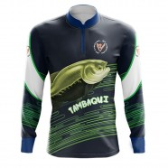 Imagem - Camiseta De Pesca Tambaqui By Aventura - 2009 -g cód: MKP000991000372